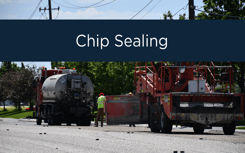 Chip Sealing_Idaho Falls Public Works Opens in new window